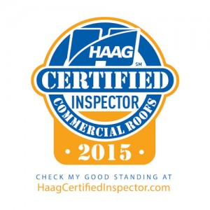 HAAG Certified Commercial Roof Inspector